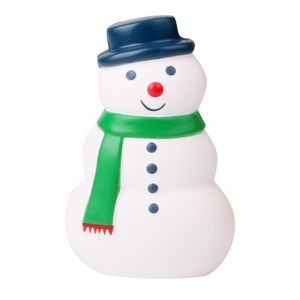 Slow Rising Scented Christmas Snowman Squishy